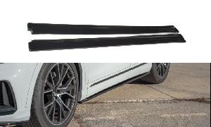 Seitenschweller Erweiterung für Audi Q8 S-line von Maxton Design