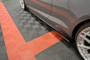 Seitenschweller Erweiterung Audi A5 S-Line F5 Coupe von Maxton Design