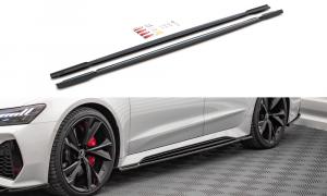 Seitenschweller Erweiterung V.1 für Audi RS7 C8 von Maxton Design