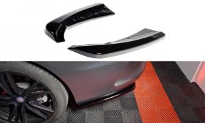 Seitliche Heck Diffusor Erweiterung für Mercedes Benz C Klasse W205 Coupe AMG Line von Maxton Design