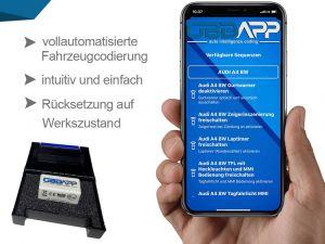 Audi Q4 e-tron FZ Video in Motion (VIM) freischalten