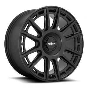Rotiform OZR 8.5x19 Lk 5/112 ET45 Ml 66.6 schwarz matt