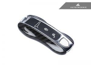 AutoTecknic Dry Carbon Schlüssel Cover für Porsche Panamera 17+ / Cayenne 18+