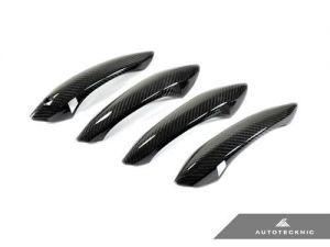 AutoTecknic Dry Carbon Türgriffverkleidunge für BMW F10 5er inklusive M5 / F06 / F12 / F13 6er inklusive M6 / F01 7er LHD
