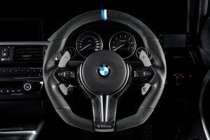 3DDesign Carbon Lenkradabdeckung für BMW M2 / M3 / M4 / M5 / X6M F-Serie