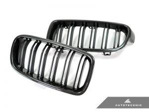 AutoTecknic Carbon Frontgrill - Doppelamellen - F30