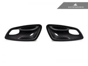 Autotecknic Trockencarbon Innentürgriff-Verkleidung für BMW 3er E92 / E93 M3