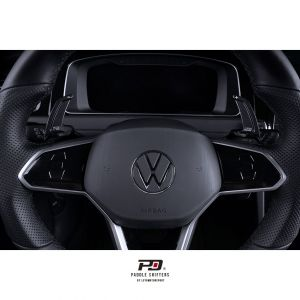 LEYO Motorsport Schaltwippen für VW Golf 8 inkl. GTI passt nicht auf R - schwarz