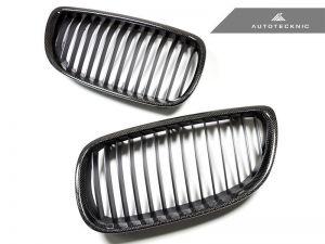 AutoTecknic Carbon Frontgrill - E92 Pre-LCI Coupe (einschließlich E9x M3) - Plain Weave