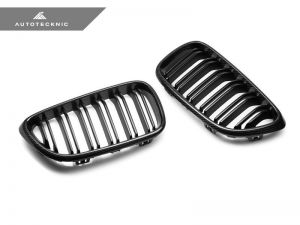 AutoTecknic Carbon Frontgrill mit Doppellamellen - F22 2-Serie