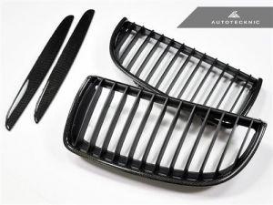 AutoTecknic Carbon-Kühlergrill für E90 Vorfacelift Limousine