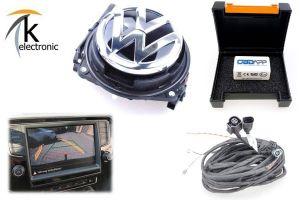 VW Golf 7 5G Rückfahrkamera dynamische Hilfslinien Nachrüstpaket Sportsvan + Variant