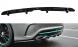 Heck Diffusor Erweiterung für Mercedes CLA C117 AMG-Line Facelift von Maxton Design