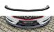 Front Diffusor / Front Splitter / Cup Schwert / Frontansatz für Mercedes Benz A-Klasse A45 AMG W176 von Maxton Design