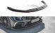 Front Diffusor / Front Splitter / Cup Schwert / Frontansatz V.2 für Mercedes-CLS AMG-Line C257 von Maxton Design