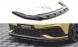 Front Diffusor / Front Splitter / Cup Schwert / Frontansatz V.2 für Volkswagen Golf 8 GTI Clubsport von Maxton Design