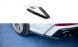Heck Diffusor Erweiterung für Audi A6 C8 S-Line von Maxton Design