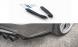 Heck Diffusor Erweiterung für Audi A6 / S6 S-Line FL von Maxton Design