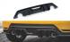 Heck Diffusor Erweiterung für Toyota GR Yaris MK4 von Maxton Design