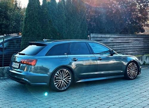 Tieferlegung per OBDApp am Audi A6 4G Avant Facelift