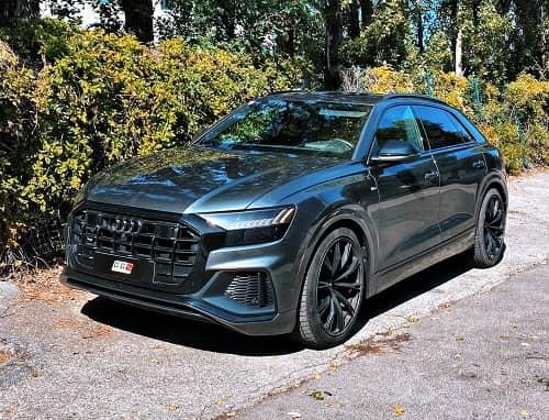 Heckumbau auf SQ8 Look am Audi Q8 4M