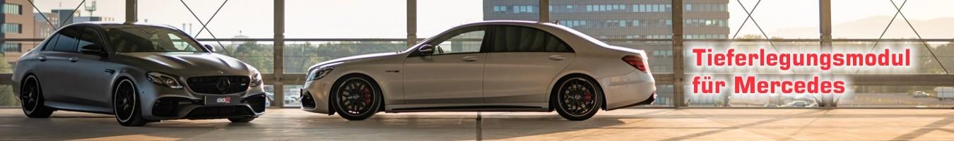 Tieferlegungsmodul für Mercedes