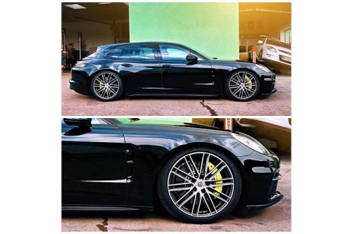 Tieferlegungsmodul Porsche Panamera
